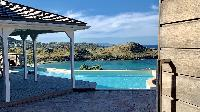 cool swimming pool of Saint Barth Villa Lagon Rose luxury holiday home, vacation rental