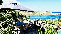 lovely surroundings of Saint Barth Villa Lagon Rose luxury holiday home, vacation rental