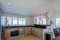 cool kitchen of Saint Barth Villa Lagon Rose luxury holiday home, vacation rental