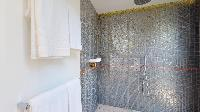rejuvenating shower in Saint Barth Villa Romane luxury holiday home, vacation rental