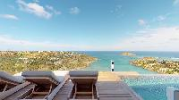 awesome seafront Saint Barth Villa Romane luxury holiday home, vacation rental