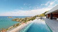 amazing seafront Saint Barth Villa Romane luxury holiday home, vacation rental