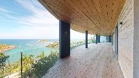 cool balcony of Saint Barth Villa Romane luxury holiday home, vacation rental