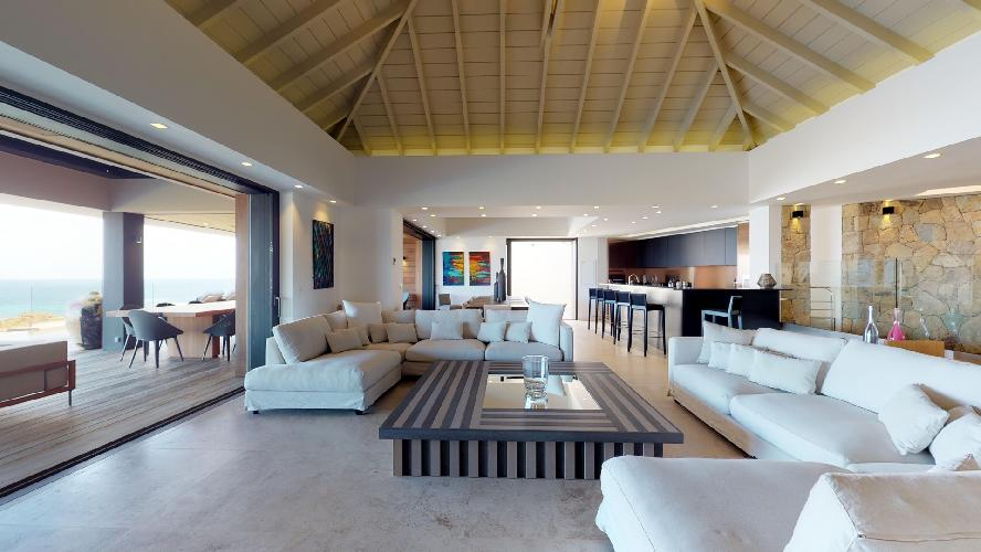 awesome Saint Barth Villa Romane luxury holiday home, vacation rental