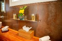 clean lavatory in Saint Barth Villa Tortue luxury holiday home, vacation rental