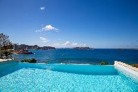 awesome sea view from Saint Barth Villa Tortue luxury holiday home, vacation rental