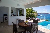 beautiful seafront Saint Barth Villa Tortue luxury holiday home, vacation rental