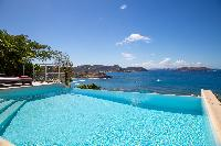 amazing sea view from Saint Barth Villa Tortue luxury holiday home, vacation rental