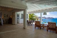 beautiful waterfront Saint Barth Villa Tortue luxury holiday home, vacation rental