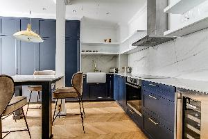 cool kitchen of Notre Dame - Fleurs luxury apartment
