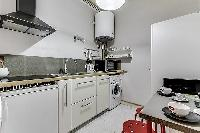 nice modern kitchen of Port Royal - Les Gobelins luxury apartment