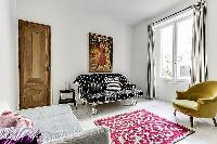 awesome bedroom furnishings in Port Royal - Les Gobelins luxury apartment