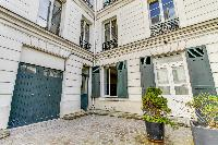 pleasant exterior of Port Royal - Les Gobelins luxury apartment