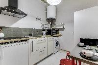 nice kitchen fittings in Port Royal - Les Gobelins luxury apartment