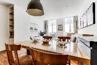 well-appointed Saint Germain des Pres - Grands Augustins luxury apartment