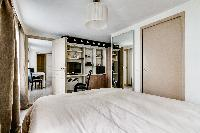 cool bedroom of Montorgeuil - Argout luxury apartment