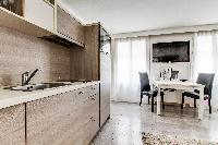 awesome kitchen of Montorgeuil - Argout luxury apartment
