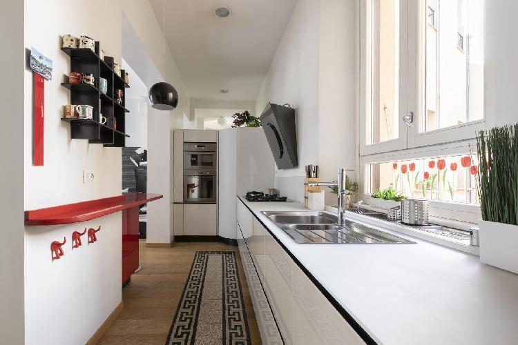 awesome kitchen of Monti-San Lorenzo - Via Machiavelli luxury apartment