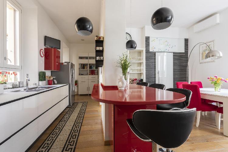 fully furnished Monti-San Lorenzo - Via Machiavelli luxury apartment