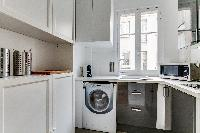 cool kitchen of Beaugrenelle - Saint Charles luxury apartment