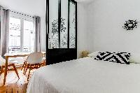 awesome bedroom of Beaugrenelle - Saint Charles luxury apartment