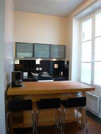 nice dining room of Saint Louis Island III luxury apartment