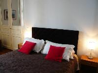 fresh and clean bed sheets and pillows in Saint Louis Island III luxury apartment
