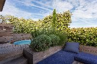 splendid roof garden of Eiffel Tower - Avenue de la Motte-Picquet luxury apartment