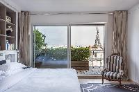 cool view from Eiffel Tower - Avenue de la Motte-Picquet luxury apartment
