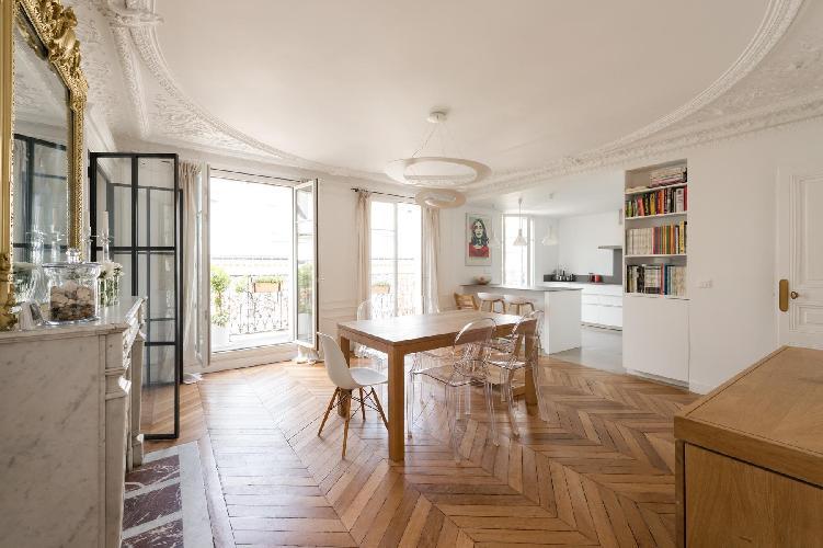 awesome Parc Monceau - Rue du Cardinal Mercier luxury apartment
