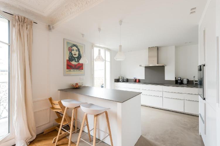 well-appointed Parc Monceau - Rue du Cardinal Mercier luxury apartment