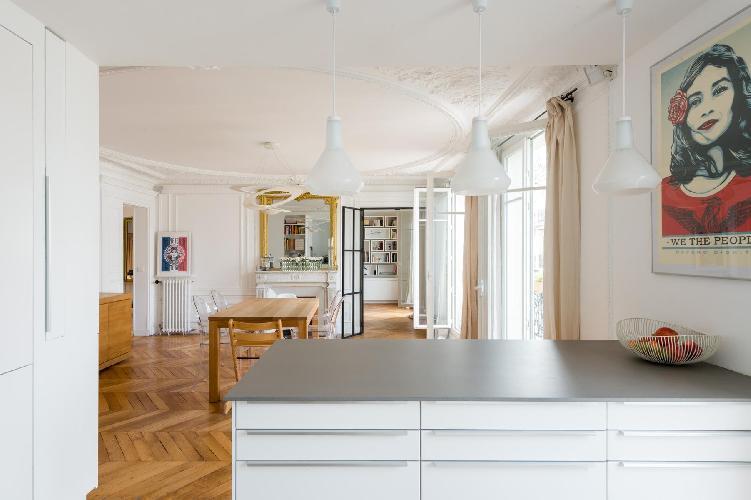 fully furnished Parc Monceau - Rue du Cardinal Mercier luxury apartment