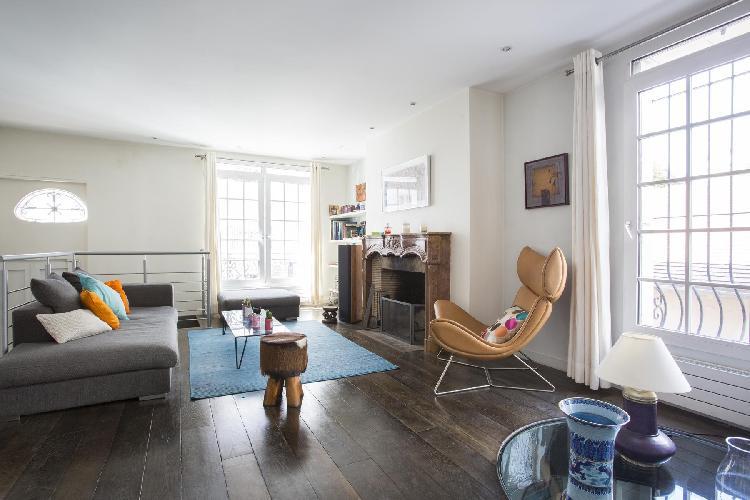 nice Montmartre Sacré-Coeur - South Pigalle - Rue Ravignan II luxury apartment