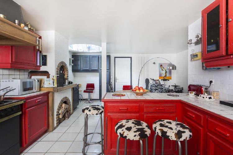 charming Montmartre Sacré-Coeur - South Pigalle - Rue Ravignan II luxury apartment