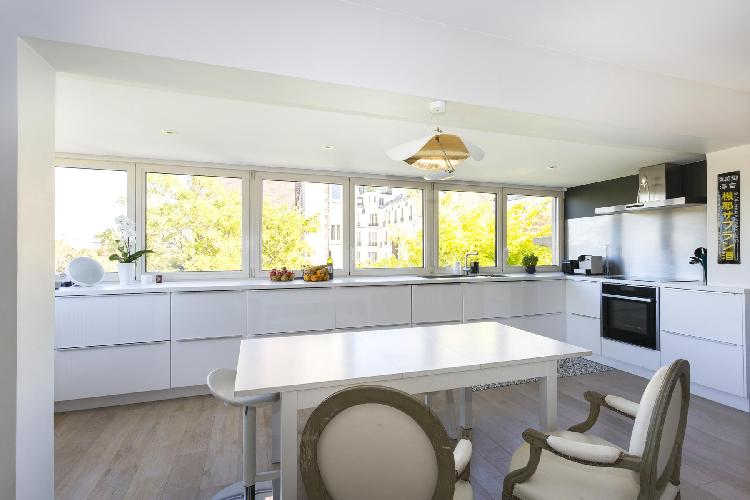 pleasant dining room of Boulogne - Villa Saïd luxury apartment