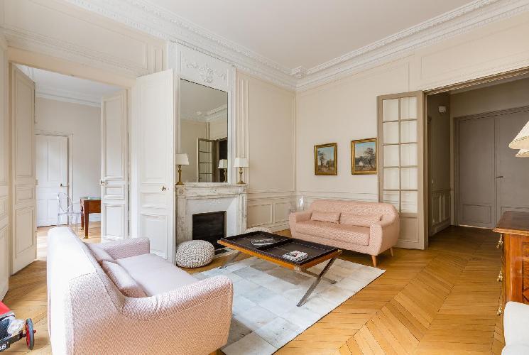nice Parc Monceau - Rue de Courcelles IV luxury apartment