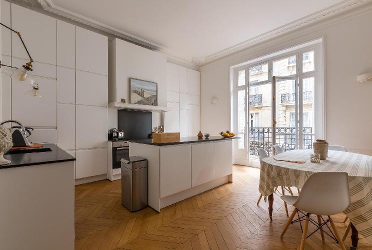 awesome Parc Monceau - Rue de Courcelles IV luxury apartment