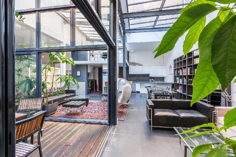 breezy and bright Bastille - Passage de la Bonne Graine luxury apartment