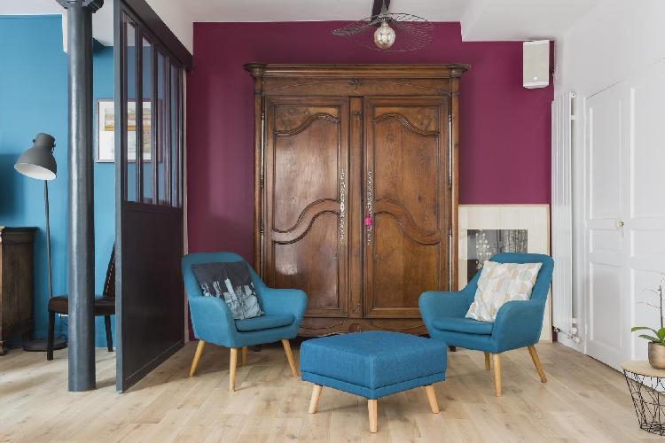 cool Canal Saint-Martin - République - Rue de la Fontaine-au-Roi luxury apartment