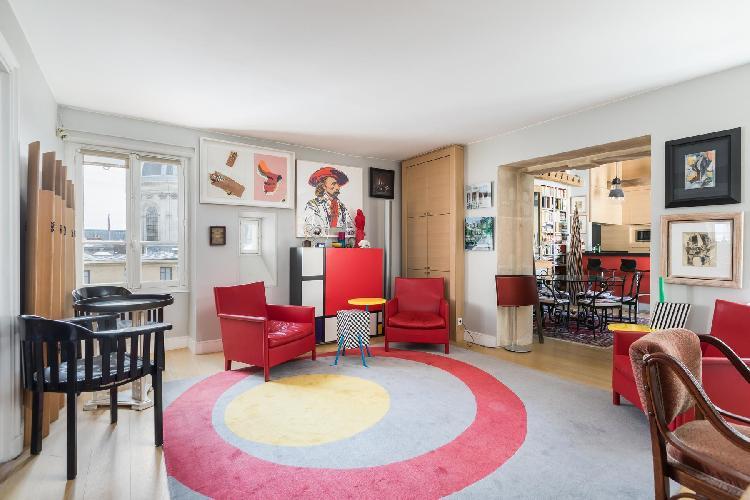 cool Saint-Germain-des-Prés - Quai Malaquais luxury apartment