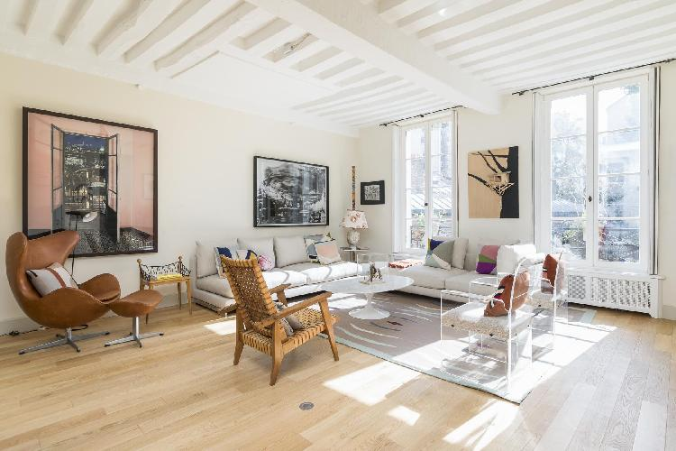 beautiful Saint-Germain-des-Prés - Rue Honoré Chevalier Townhouse luxury apartment