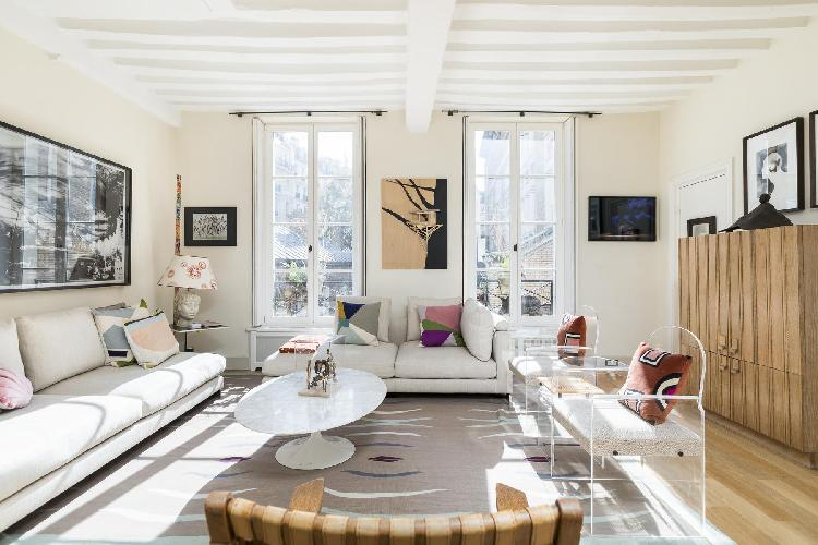 breezy Saint-Germain-des-Prés - Rue Honoré Chevalier Townhouse luxury apartment