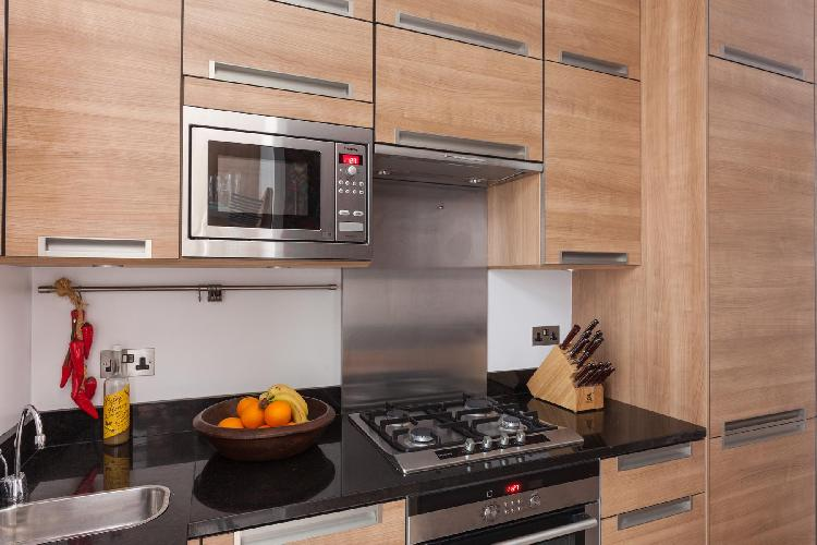 charming kitchen of London - Northumberland Mansions luxury apartment