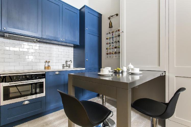 nice interiors of Marylebone - Seymour Place III Studio luxury apartment