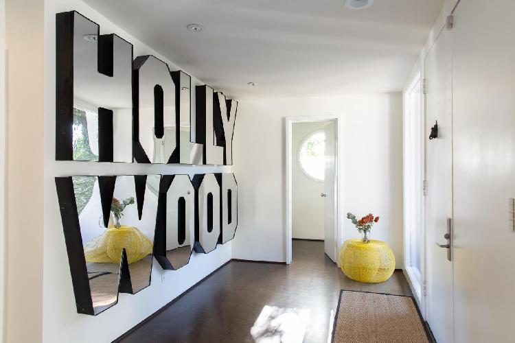 fun Hollywood Hills Briar Knoll Drive luxury vacation rental