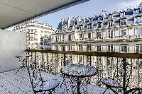 awesome balcony of Trocadéro - Poincaré 3 Bedrooms I luxury apartment