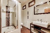 neat bathroom in Trocadéro - Poincaré 3 Bedrooms I luxury apartment