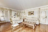 awesome interiors of Trocadéro - Poincaré 3 Bedrooms I luxury apartment