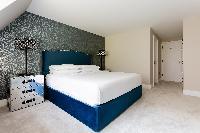 neat bedroom in Kensington Church Street VIII luxury apartment