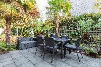 amazing patio of Kensington Church Street VIII luxury apartment